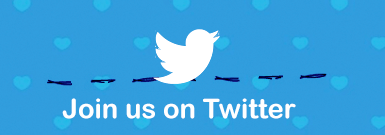 Fine us on Twitter