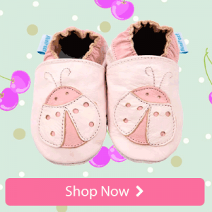 Girls Soft Leather Baby Shoes